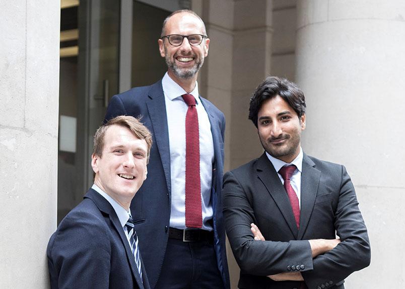 Johnston Carmichael London team
