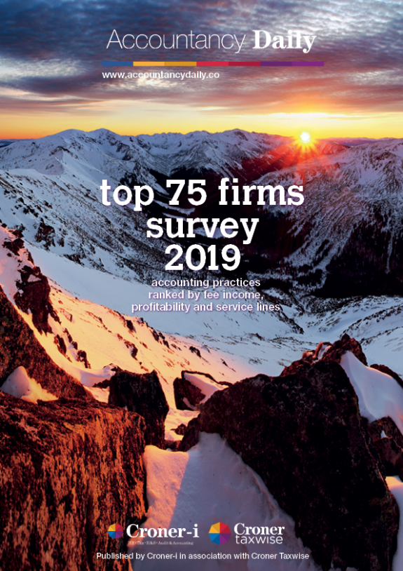 Accountancy Daily Top 75 Firms 2019