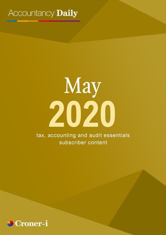 Accountancy Daily May 2020