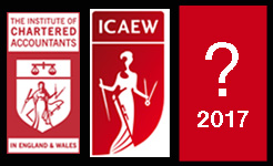 ICAEW logos over time